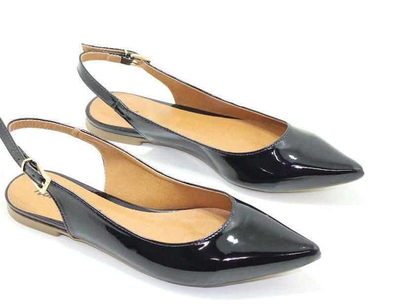 0e36655074 Sapato chanel em verniz - R  59.99  12707