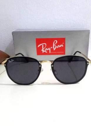 Óculos de sol ray ban hexagonal blaze rb 3579 unissex 3 cores disponivel