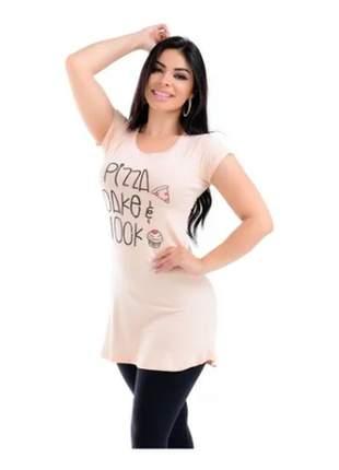 Kit com 3 blusa feminina longa vest legging roupa academia