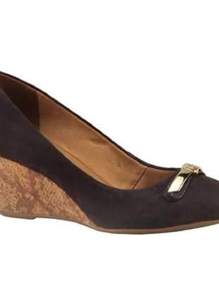 Sapato Anabela Bottero Dark Brown 253201