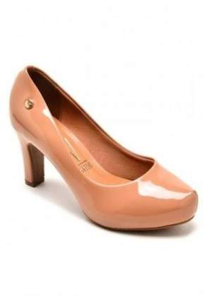 Sapato Scarpin Vizzano Verniz Nude 1840.101