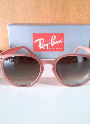 Óculos de sol ray ban hexagonal acetato rb 4306 unissex 6 cores disponivel