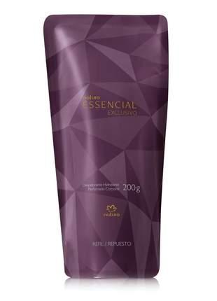 Refil desodorante hidratante corporal perfumado essencial exclusivo - 200 g