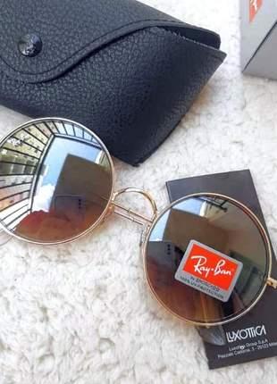 Óculos de sol ray ban ja jo redondo rb 3592 unissex 4cores disponivel