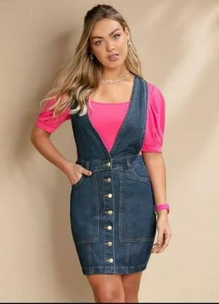 Jardineira salopete jeans