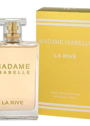 Madame isabelle la rive – perfume feminino edp - 90ml