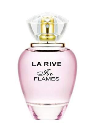 In flames la rive – perfume feminino edp - 90ml