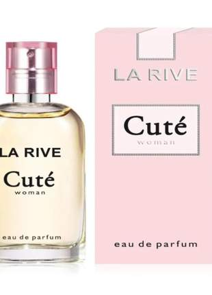 Cuté woman la rive - perfume feminino - eau de parfum - 30ml