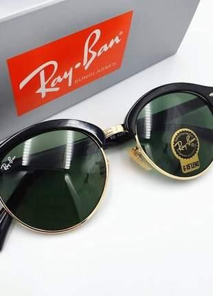 Óculos de sol ray ban clubround rb 4246 unissex 6 cores disponível
