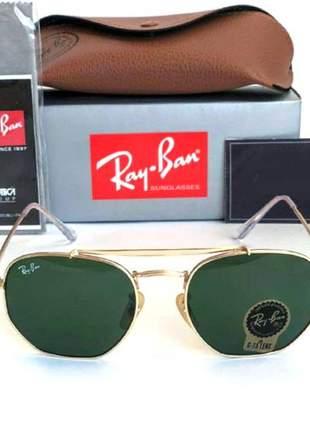 Óculos de sol ray ban marshal rb 3648 unissex 6 cores disponivel