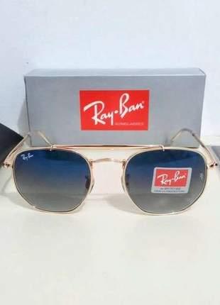 Óculos de sol ray ban marshal rb 3648 unissex 4 cores disponivel