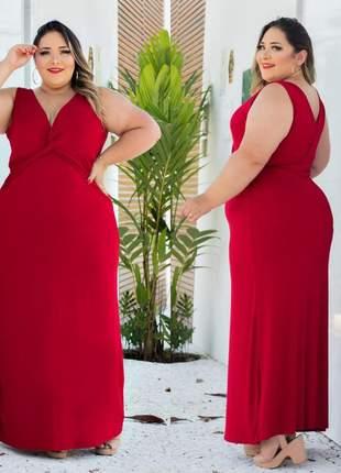 Vestido plus size  flórido
