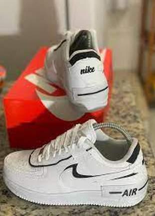 Nike air force 1 shadow branco e amarelo lançamento
