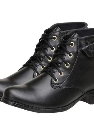 Coturno feminino bota feminino blogueira tendência calçado feminino
