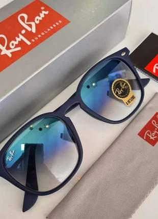 Óculos de sol ray ban hexagon acetato rb 4258 unissex 6 cores disponivel
