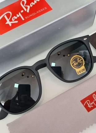Óculos de sol ray ban hexagon acetato rb 4258 unissex 2 cores disponivel