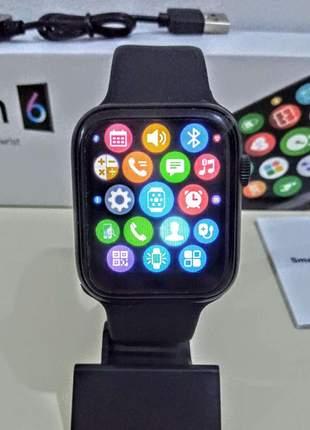 Smartwatch relógio inteligente iwo x16 mmultifunções unissex