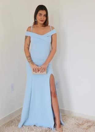 Vestido de festa madrinha de casamento formatura eventos convidadas