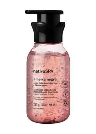 Acquagel hidratante desodorante corporal nativa spa ameixa negra 250g