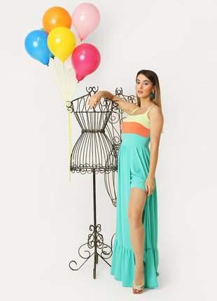 Vestido arco-iris 9018222