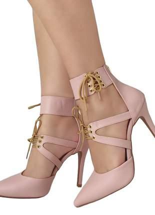 Scarpin salto alto bellatotti sedurre rosa