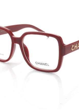 Óculos para com lentes grandes para grau quadrada transparente incolor feminino moda 2021