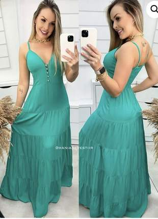 Vestido longo samantha