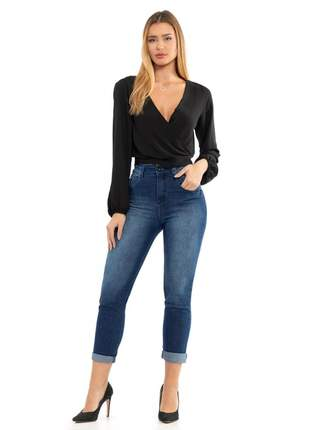 Calça Feminina Mom Jeans Tradicional Biotipo 27396
