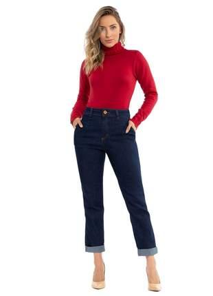 Calça biotipo jeans feminina mom ref.27431