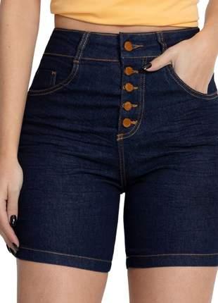 Short Bermuda Jeans Feminino Levanta Bumbum