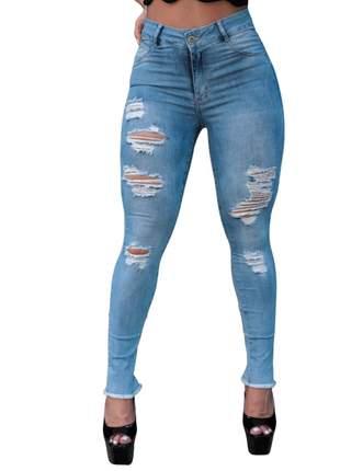 Calças Jeans Feminina Cintura Alta Empina Bumbum Darlook