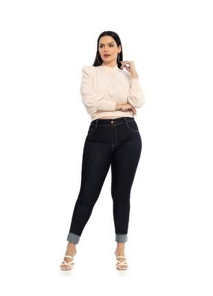 Calça biotipo jeans feminina skinny plus size ref.27513