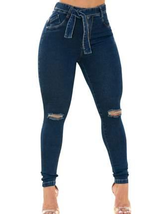 Calça Feminina Cintura Média Skinny Com Lycra Darlook