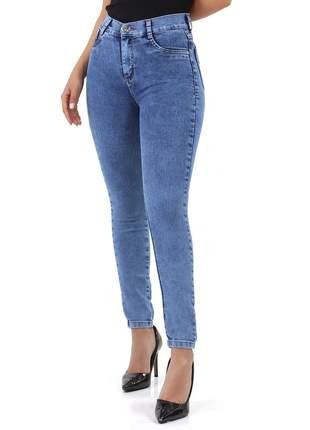 Calça Sawary Jeans skinny Feminina Com Elastano 267592