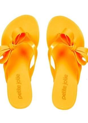 Chinelo Petite Jolie Amarelo PJ4611