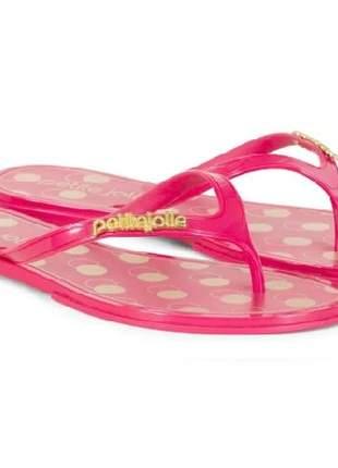 Chinelo Petite Jolie Lastic Power Pink PJ3640