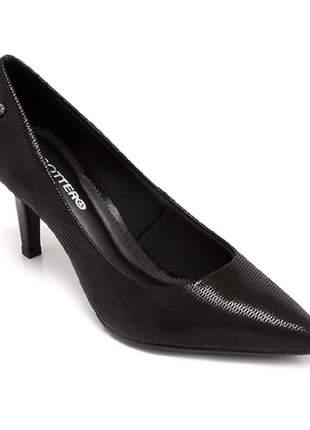 Sapato Scarpin Bottero Puntini Preto 286901