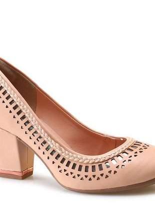 Sapato Scarpin Dakota Nude B8642