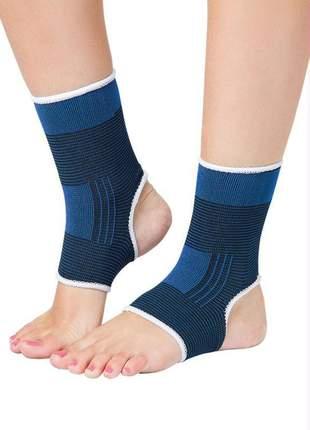 Par tornozeleira ortopédica