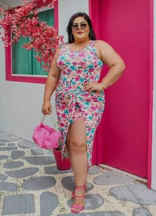 Vestido feminino plus size