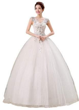 Vestido de noiva vintage floral romântico de casamento no estilo noiva princesa!!