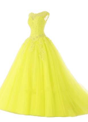 Vestido de debutante princess carol 15 anos formatura madrinha festa