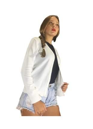 Jaqueta feminina casaco de inverno terninho de botao
