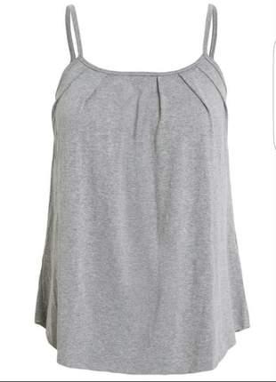 Blusa de alcinha plus size
