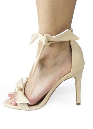 Sandália salto fino dalí shoes