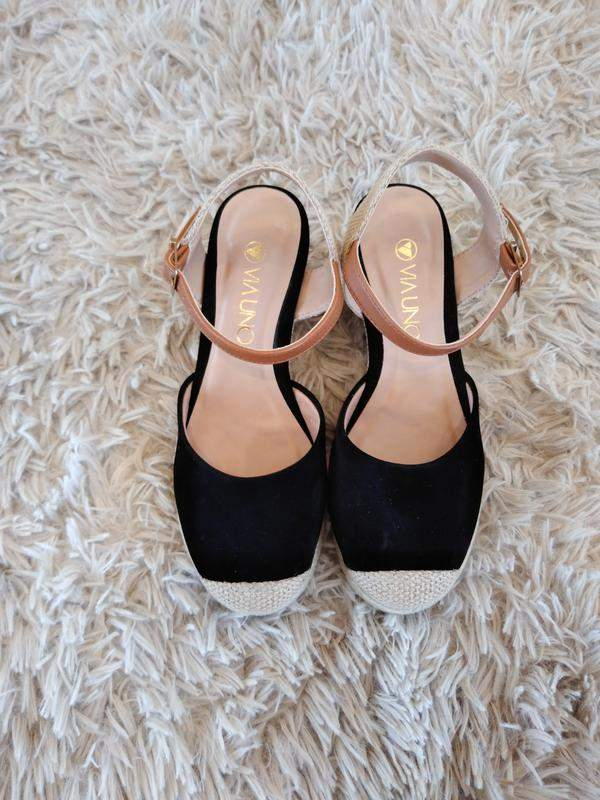 4631ae039c Sandalia espadrilles via uno - R  79.00 (confortável)  14010