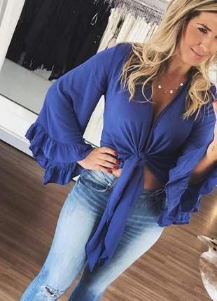 Cropped blusa