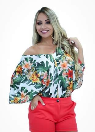 Blusa pamela estampa floral