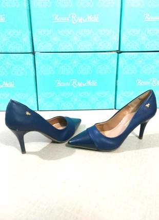 Sapato scarpin sintético