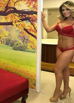 Conjunto lingerie rendado by babi rossi